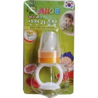 ANGE Baby Food Feeder(Both Hands)-Orange