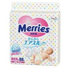 Merries (花王) 初生片88枚